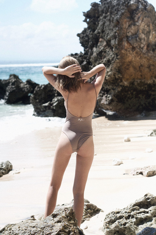 Blueglue swimsuit Alix Del by Sophia Molen photography