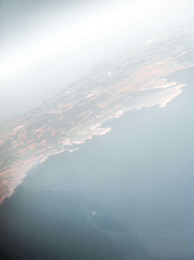 menorca from the air