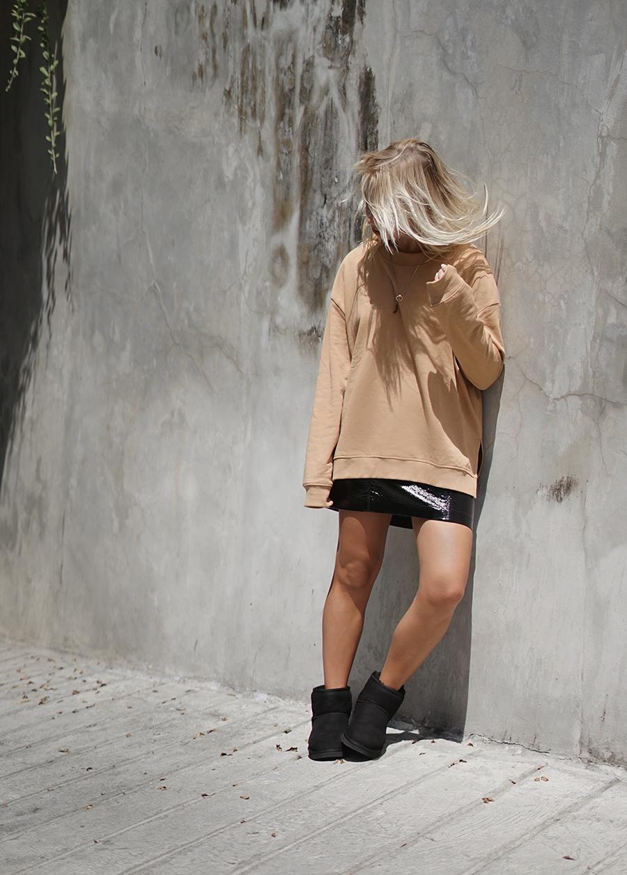 ugg classic black short